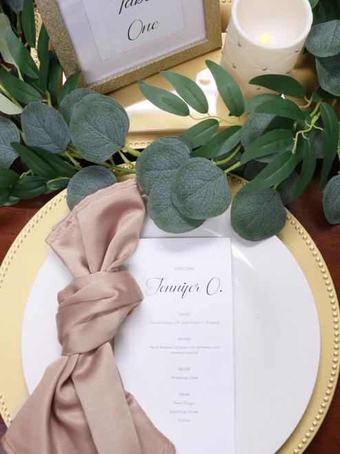 l'amour blush napkins