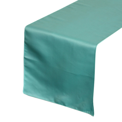Turquoise Table Runners, Lamour Table Runners for Weddings and Events