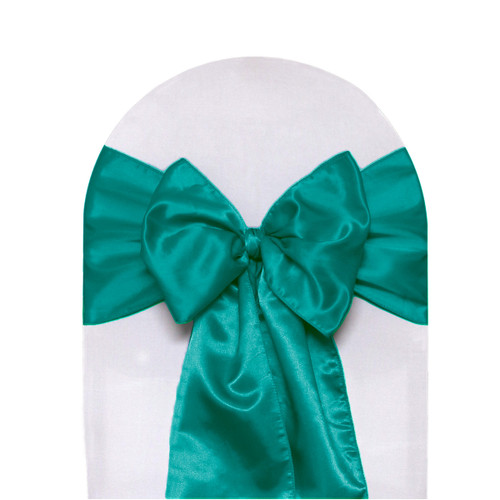 Satin Sashes Teal