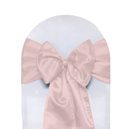 Satin Sashes Blush