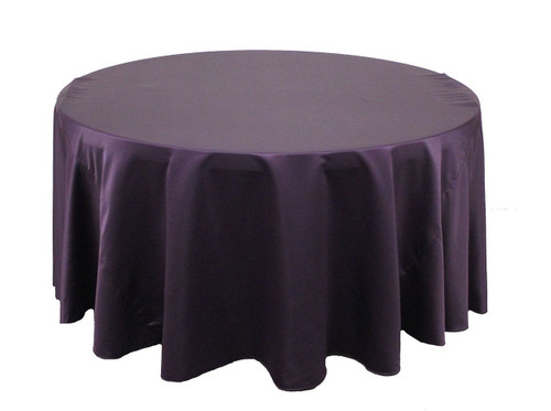 Eggplant L'amour Tablecloths