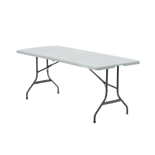 90 x 156 inch Rectangular Polyester Tablecloths Gray