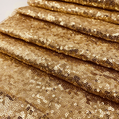 Glitz Sequin Gold Swatch