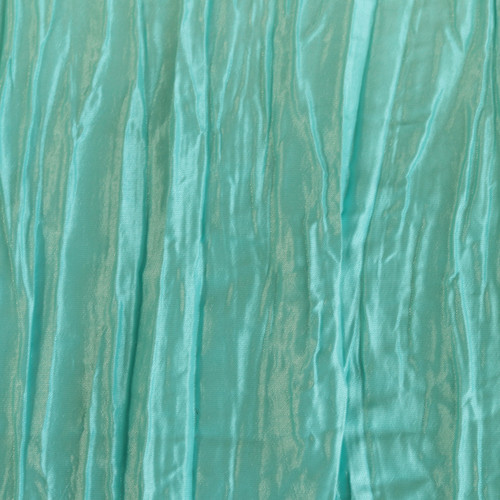 90 x 132 Inch Rectangular Crinkle Taffeta Tablecloth Tiffany