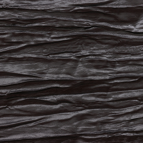 Crinkle Taffeta Swatch Black