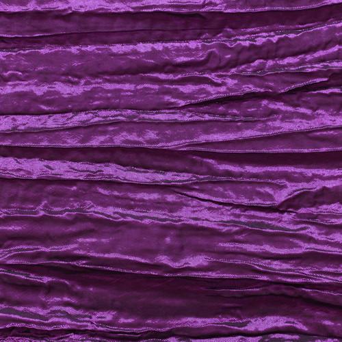 Crinkle Taffeta Purple Swatch