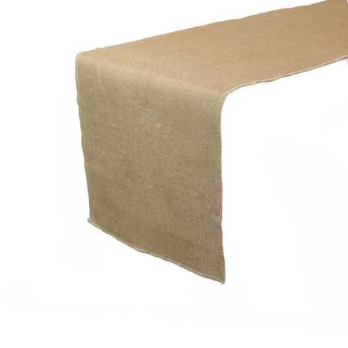13 X 108 Inch Jute Burlap Table Runner