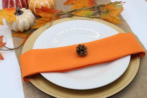 Cloth Napkins Orange