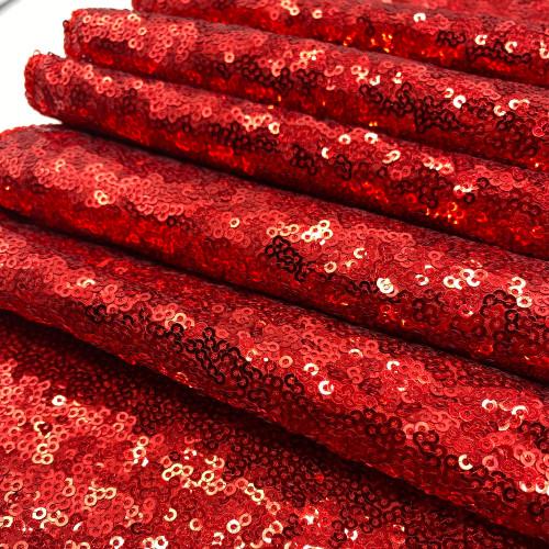Glitz Sequin Red Swatch