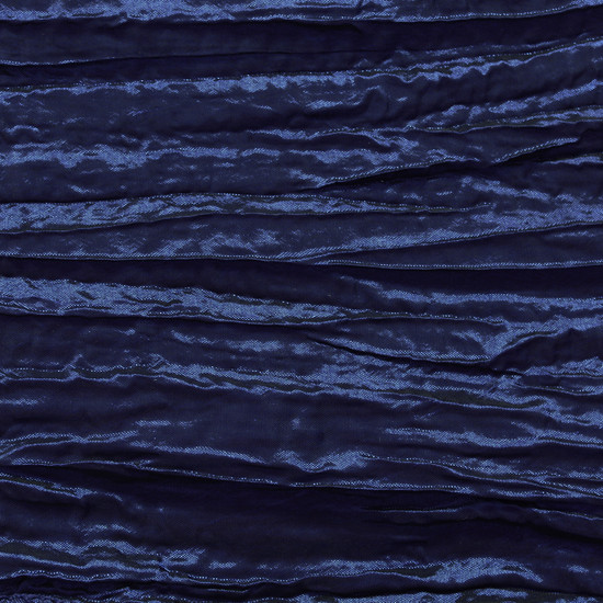 Navy Blue Crinkle Swatch