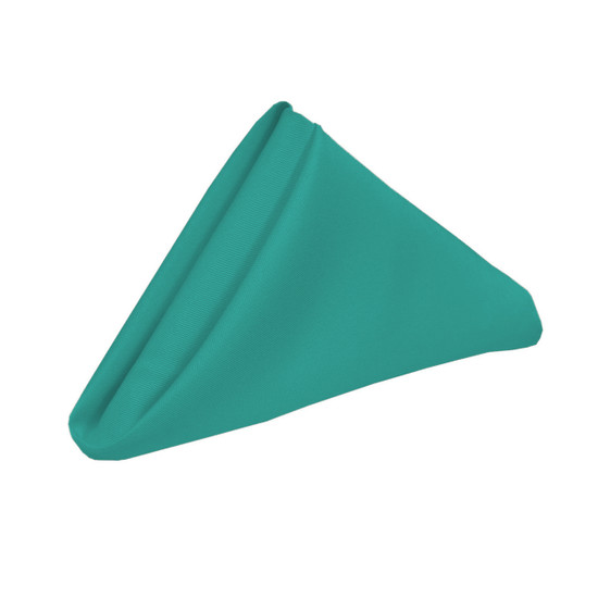 20 inch Polyester Cloth Napkins Teal