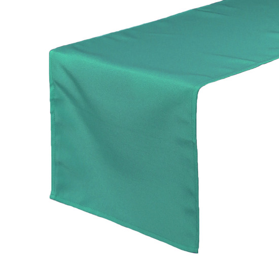 14 x 108 inch Polyester Table Runner Teal