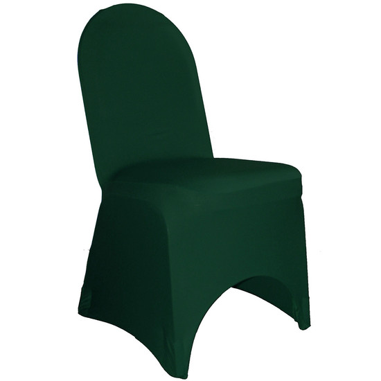 Stretch Spandex Banquet Chair Cover Hunter Green