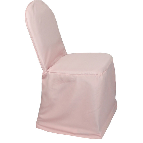 Polyester Chair Cover Blush