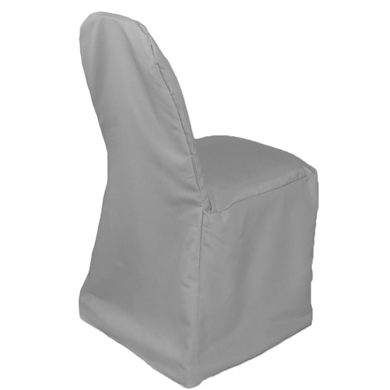 Polyester Chair Cover Gray for weddings