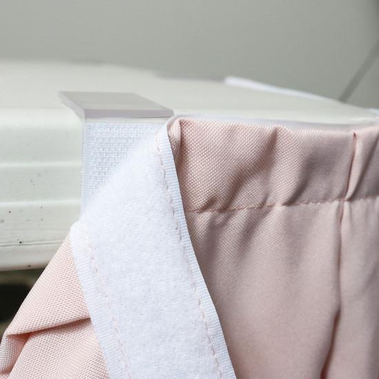 velcro table skirt