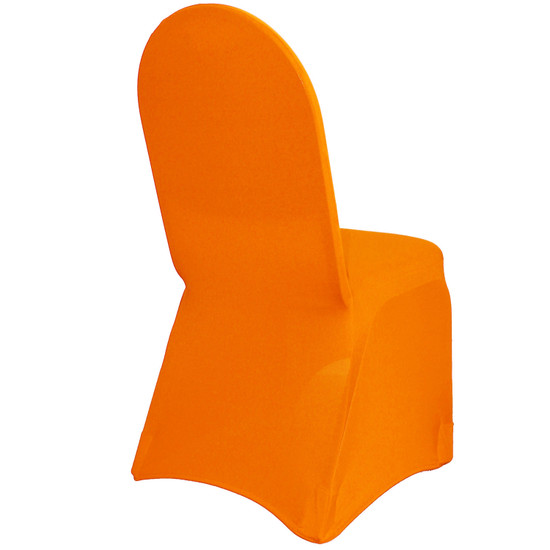 Stretch Spandex Banquet Chair Cover Orange