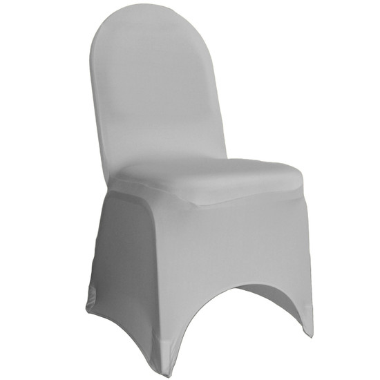 Wholesale Stretch Spandex Banquet Chair Cover Gray