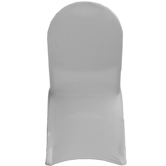 Stretch Spandex Banquet Chair Cover Gray For Events