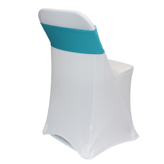 Spandex Chair Sashes Teal