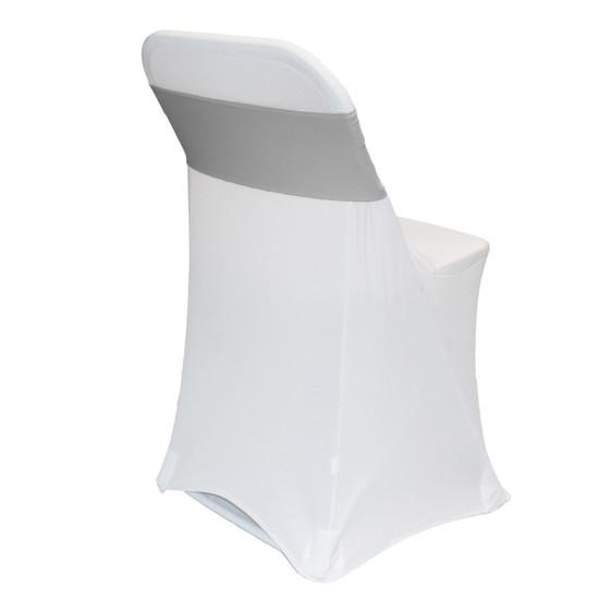 Spandex Chair Sashes Gray