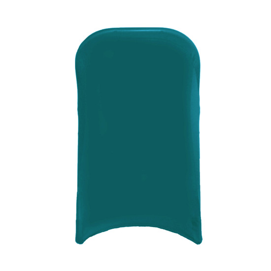 Stretch Spandex Folding Chair Cover Teal For Hotels