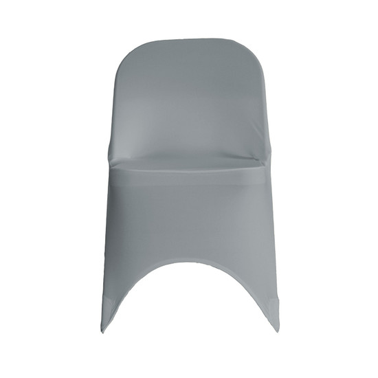 Wholesale Stretch Spandex Folding Chair Cover Gray
