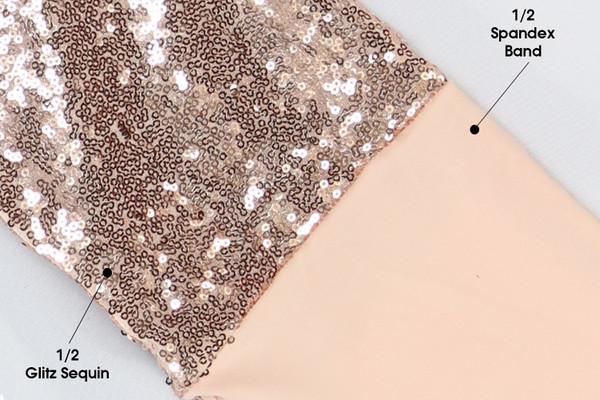 Glitz Sequin Blush Swatch