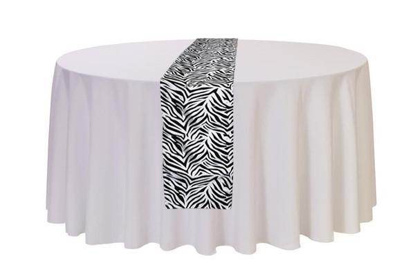 Table Runner Zebra