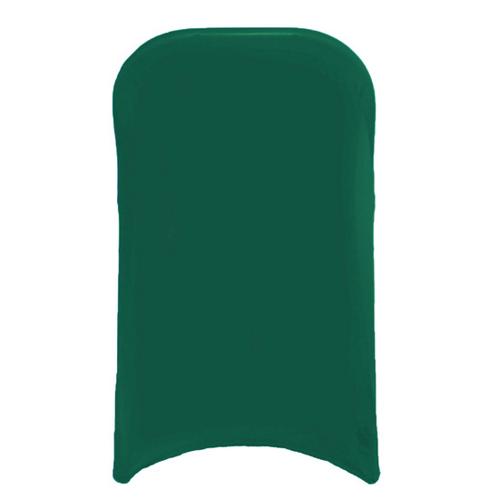 Wholesale Stretch Spandex Folding Chair Covers Hunter Green