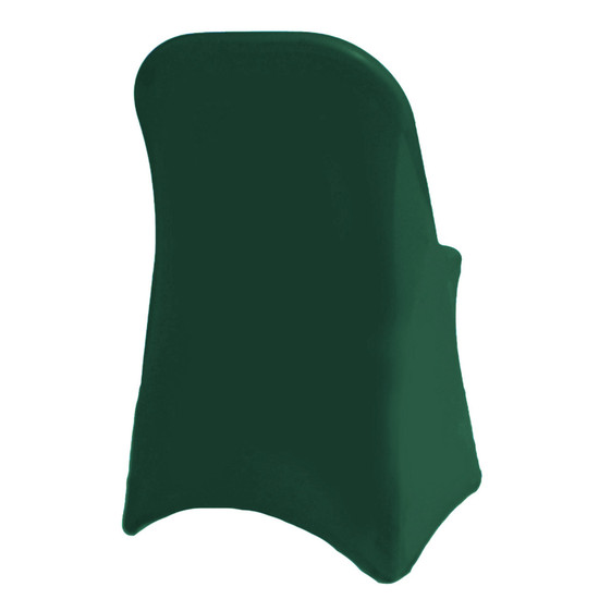 Spandex Folding Chair Covers Hunter Green