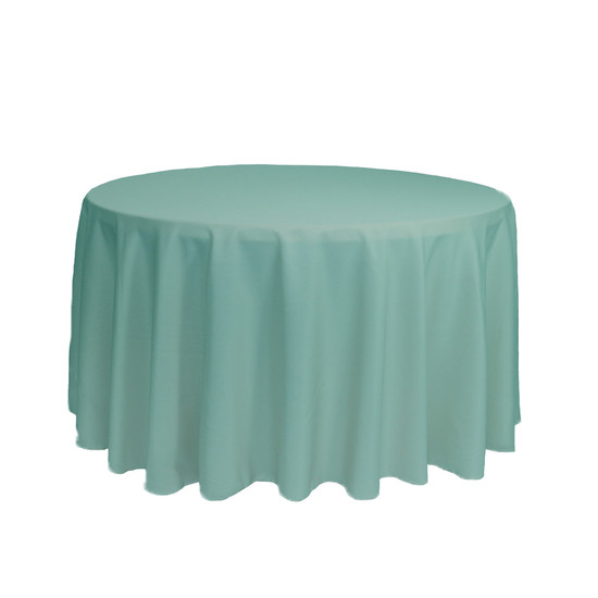 108 Inch Round Polyester Tablecloth Tiffany