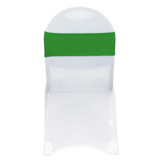 10 Pack Stretch Spandex Bands Emerald Green