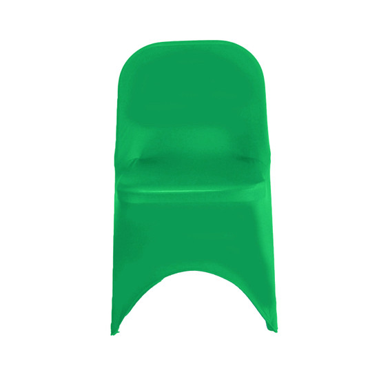 Stretch Spandex Folding Chair Cover Emerald Green For Wedding