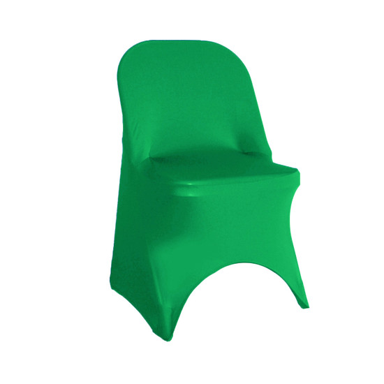 Stretch Spandex Folding Chair Cover Emerald Green