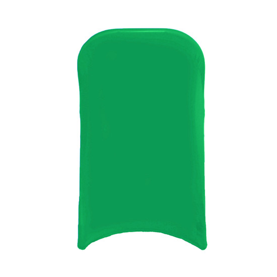 Wholesale Stretch Spandex Folding Chair Cover Emerald Green