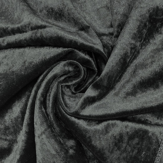 Velvet Spandex Folding Chair Cover Black