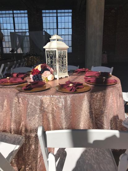 polyester burgundy napkins