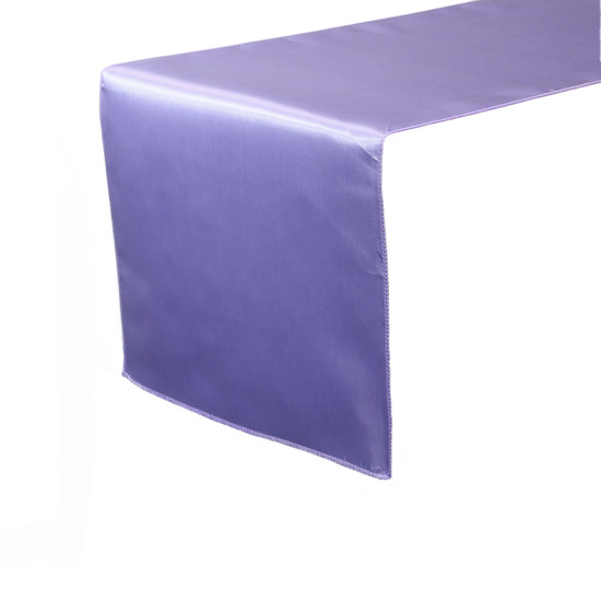 14 x 108 inch Satin Table Runners Lavender