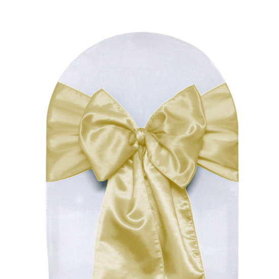 Satin Sashes Champagne