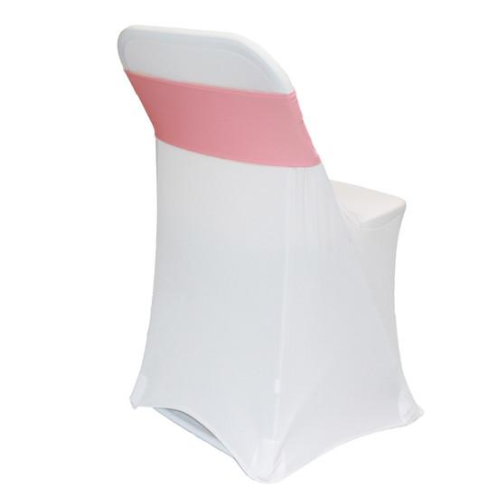 Spandex Chair Sashes Coral