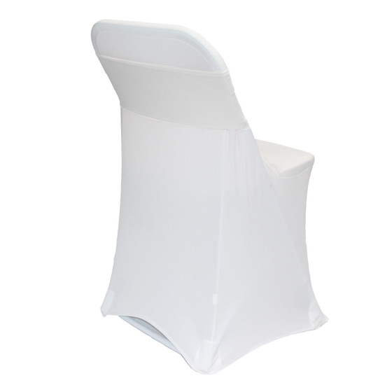 Spandex Chair Sashes White
