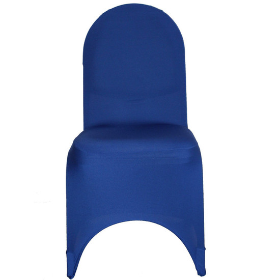 Spandex Banquet Chair Covers Royal Blue For Weddings