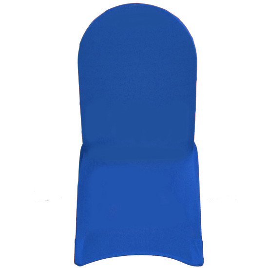 Spandex Banquet Chair Covers Royal Blue For Events