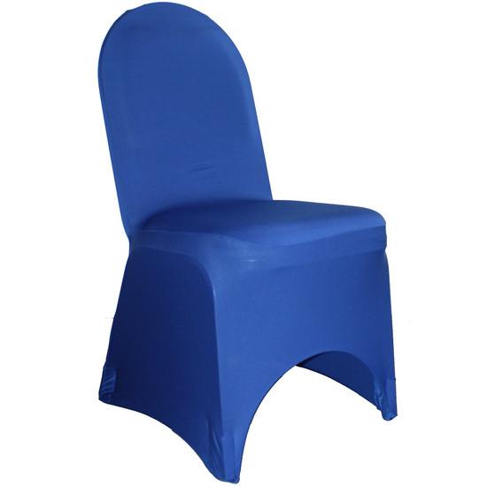 Spandex Banquet Chair Covers Royal Blue