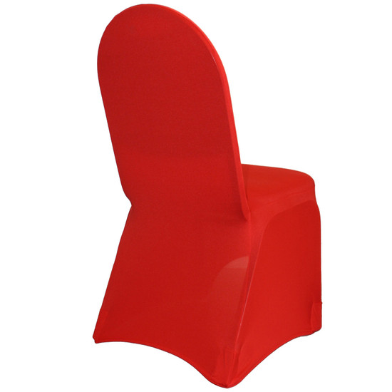 Spandex Banquet Chair Covers Red For Events
