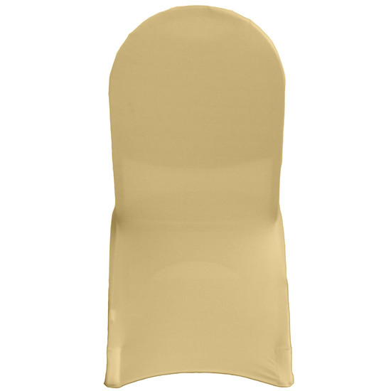 Spandex Banquet Chair Cover Champagne For Events