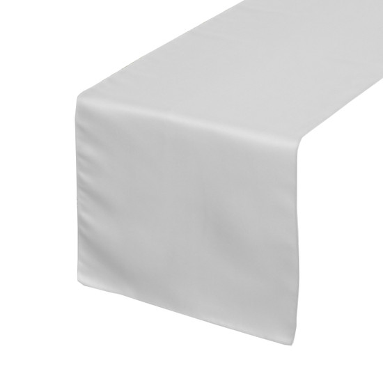 White Table Runners, Lamour Table Runners for Weddings and Events