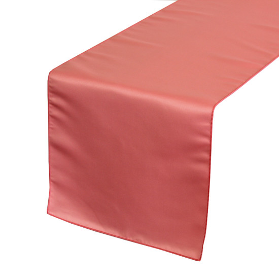 Coral Table Runners for Weddings