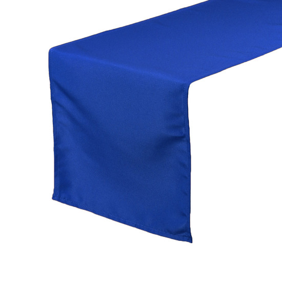 Royal Blue Table Runners, Polyester Table Runner for Weddings